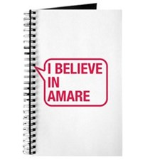 I Believe In Amare Journal