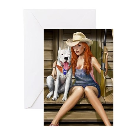 Southern Girl Greeting Cards (Pk of 20)