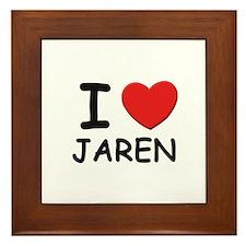 I love Jaren Framed Tile