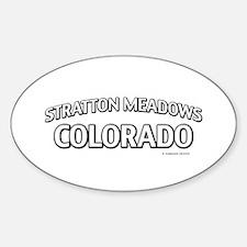 Stratton Meadows Colorado Decal
