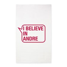 I Believe In Andre 3'x5' Area Rug