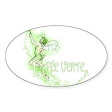 Absinthe Fairy Flying Decal