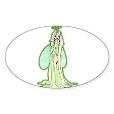 Green Fairy Princess Decal