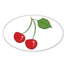 Retro Cherries Decal