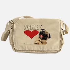 KEEP CALM PUG ON! Messenger Bag