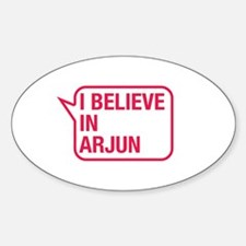 I Believe In Arjun Decal