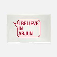 I Believe In Arjun Rectangle Magnet