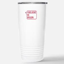 I Believe In Arjun Travel Mug