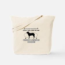 Funny Belgian Laekenois dog mommy designs Tote Bag
