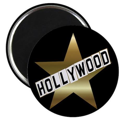 "HOLLYWOOD California Hollywood Walk of Fame 2.25"""