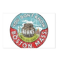 Boston Baked Beans Postcards (Package of 8)