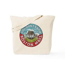 Boston Baked Beans Tote Bag