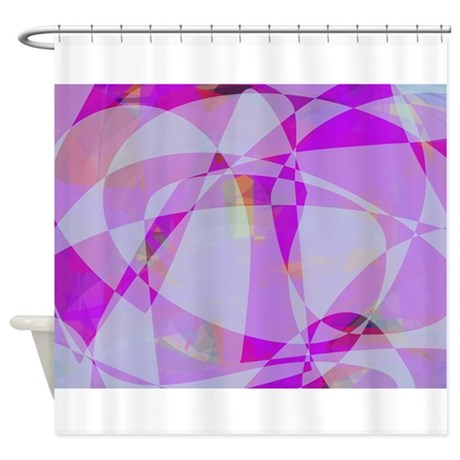 Summer Ice Shower Curtain