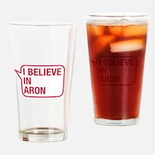 I Believe In Aron Drinking Glass