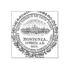 Vintage Boston Seal Sticker