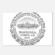 Vintage Boston Seal Postcards (Package of 8)