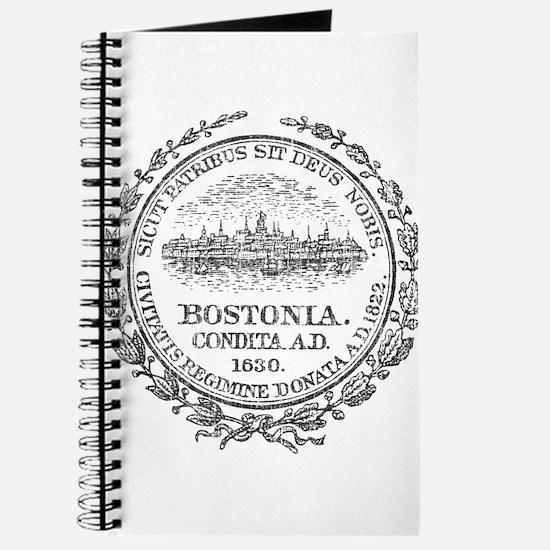 Vintage Boston Seal Journal