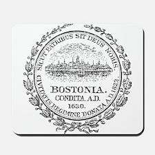 Vintage Boston Seal Mousepad