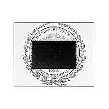 Vintage Boston Seal Picture Frame