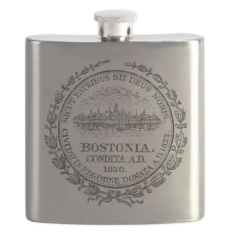 Vintage Boston Seal Flask