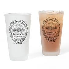 Vintage Boston Seal Drinking Glass