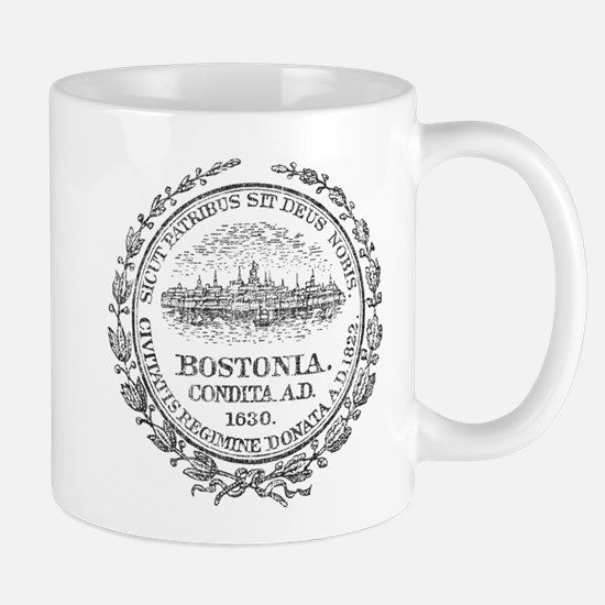 Vintage Boston Seal Mug