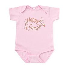 Happy Camper Pink Body Suit