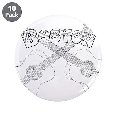 "Boston Guitars 3.5"" Button (10 pack)"