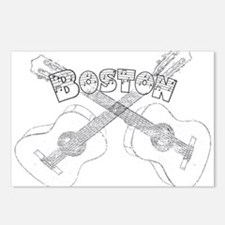Boston Guitars Postcards (Package of 8)