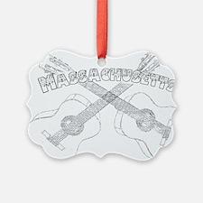 Massachusetts Guitars Ornament
