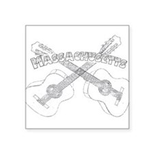 Massachusetts Guitars Sticker