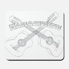 Massachusetts Guitars Mousepad