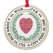 Vintage Worcester Ornament