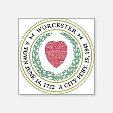 Vintage Worcester Sticker