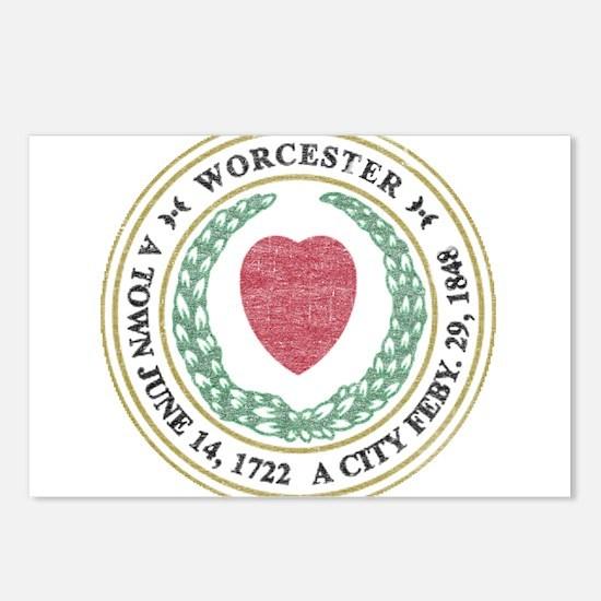 Vintage Worcester Postcards (Package of 8)