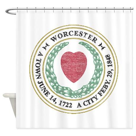 Vintage Worcester Shower Curtain