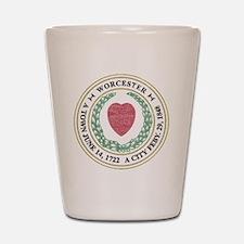 Vintage Worcester Shot Glass
