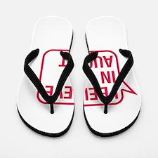 I Believe In August Flip Flops