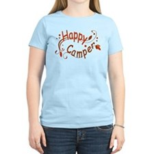 Happy Camper Light Yellow T-Shirt