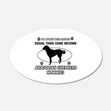 Funny Anatolian Shepherd dog mommy designs Wall Decal
