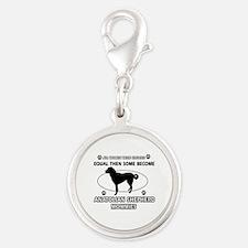 Funny Anatolian Shepherd dog mommy designs Silver
