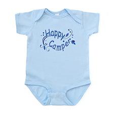 Happy Camper Blue Body Suit