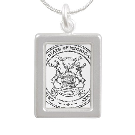 Vintage Michigan State Seal Necklaces