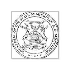 Vintage Michigan State Seal Sticker