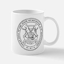 Vintage Michigan State Seal Mug