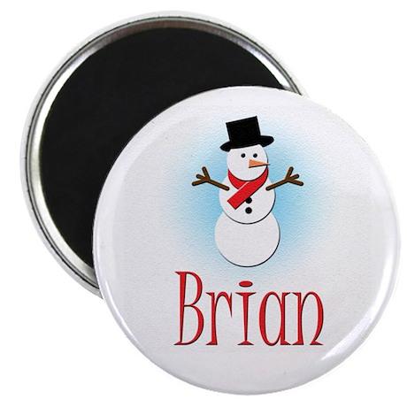 Snowman - Brian Magnet
