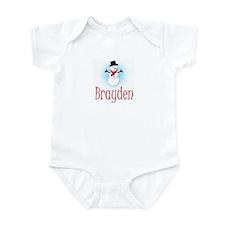 Snowman - Brayden Infant Bodysuit