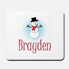 Snowman - Brayden Mousepad