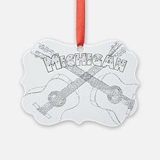 Michigan Guitars Ornament