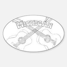 Michigan Guitars Decal